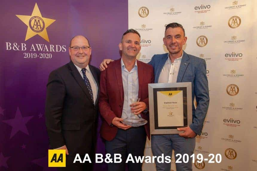 Britain's best B&Bs announced at the AA B&B National Awards