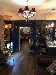 guest bar at brightham house b&b salcombe
