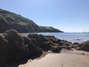 Salcombe beach