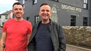 Owners of brightham house - scott browning and alistair veness