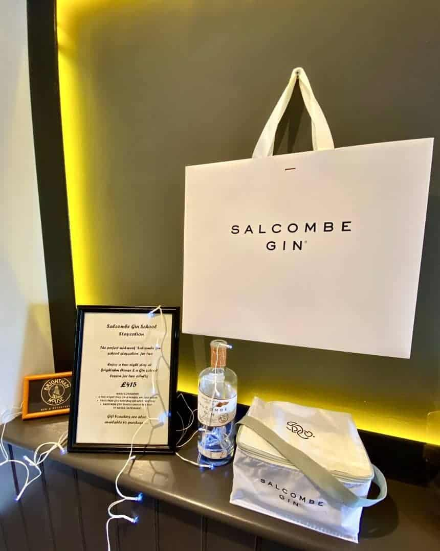 Salcombe Gin Staycation