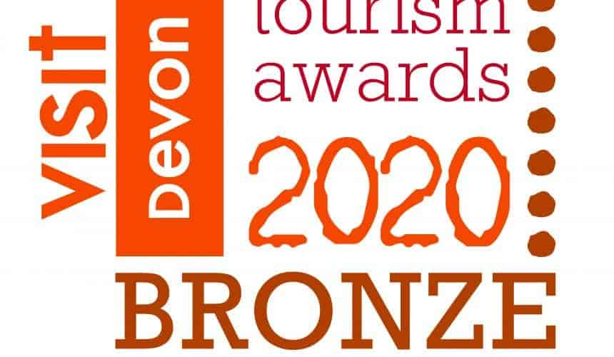 Taking home a Bronze at the Devon Tourism Awards