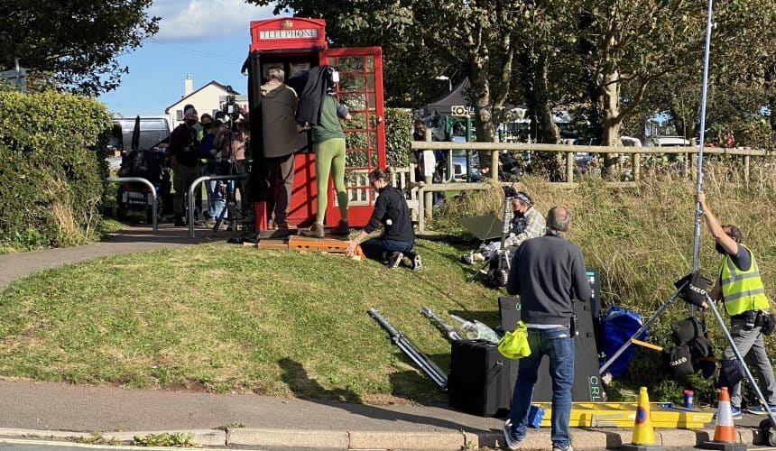 Movie Set for 'The Unlikely Pilgrimage of Harold Fry'